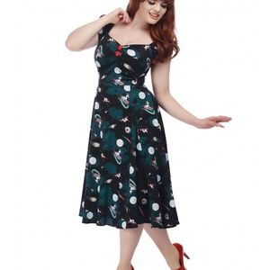 Space Pinup Doll Dress